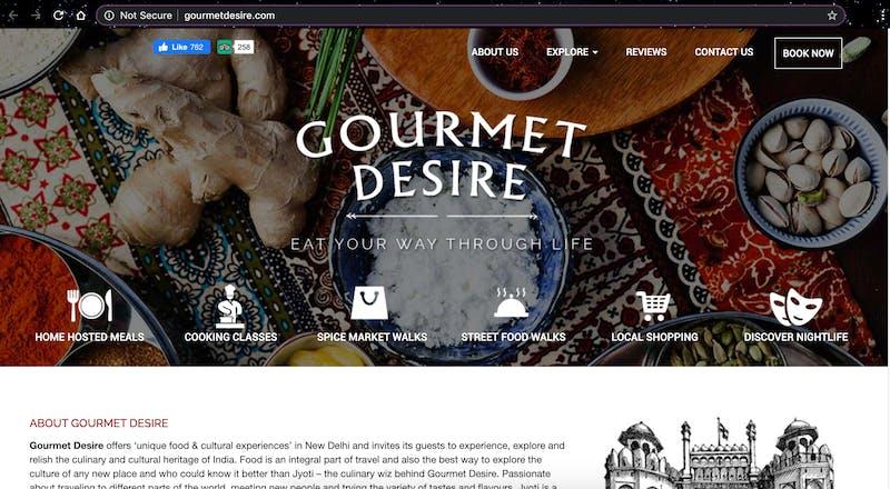 Gourmet Desire