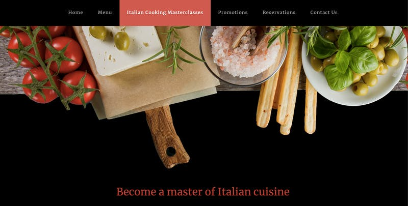 Solo Italian Restaurant and Bar Cooking Classes