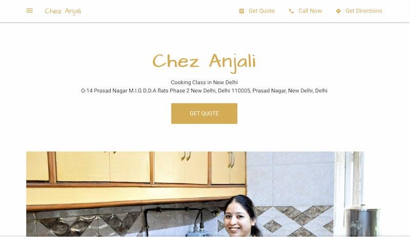 Chez Anjali