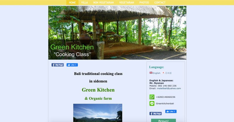 The Green Kitchen Cooking Classes