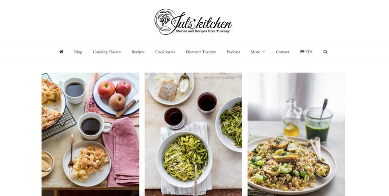 Juls Kitchen Story And Recipies from Tuscany