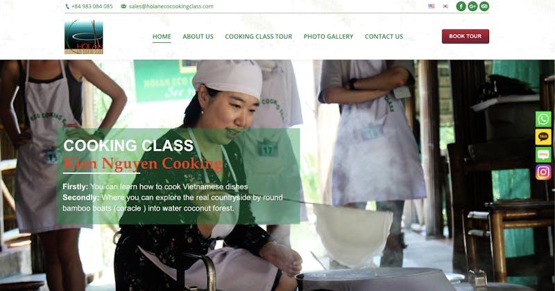 Kien Nguyen Cooking Class