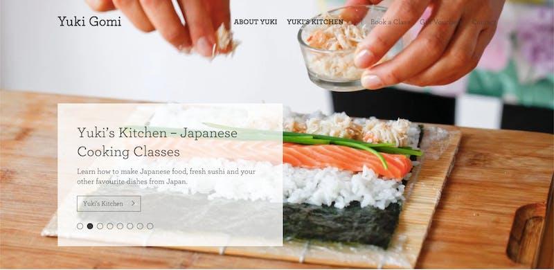 Yuki's Kitchen Japanese Cooking Classes