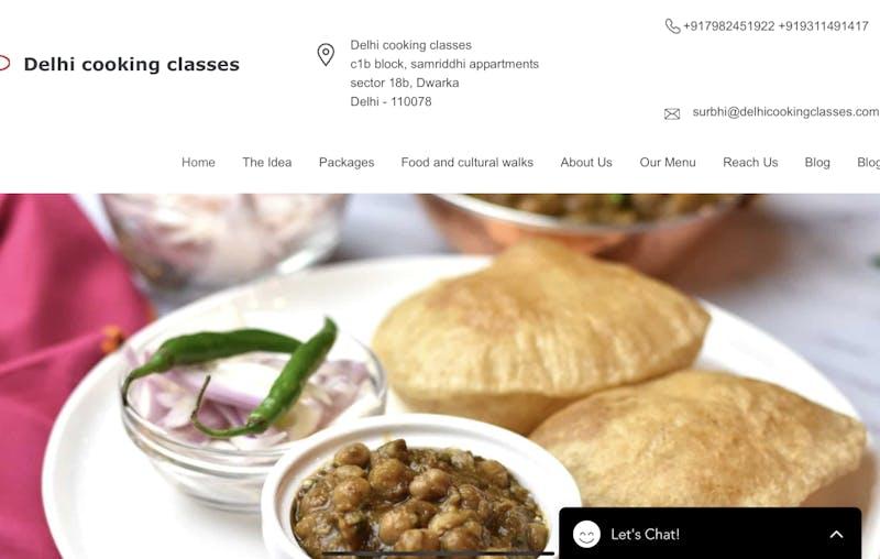 Delhi Cooking Classes