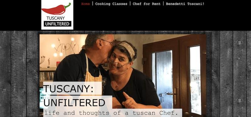 Alessandra Federici's Cucina Cooking School in Cortona
