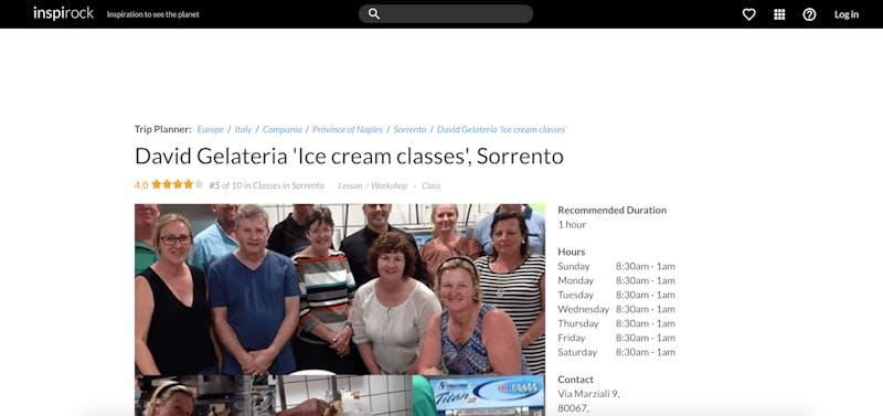 David Gelateria Gelato Ice Cream Classes