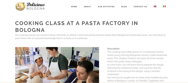 Delicious Bologna: Cooking Class at a Pasta Factory