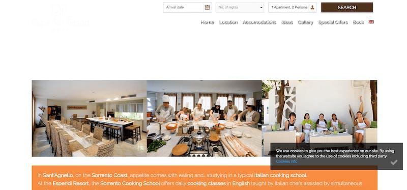 Esperidi Resort Sorrento Cooking School
