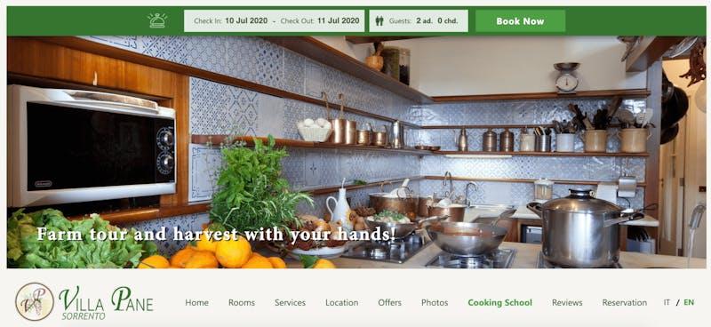 Hotel Oasi Olimpia Cooking School