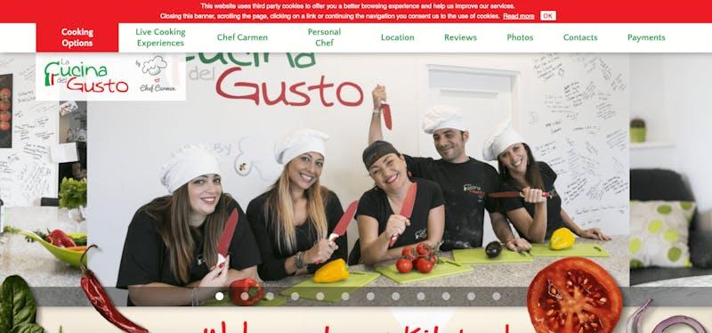 La Cucina del Gusto Cooking Classes with Chef Carmen