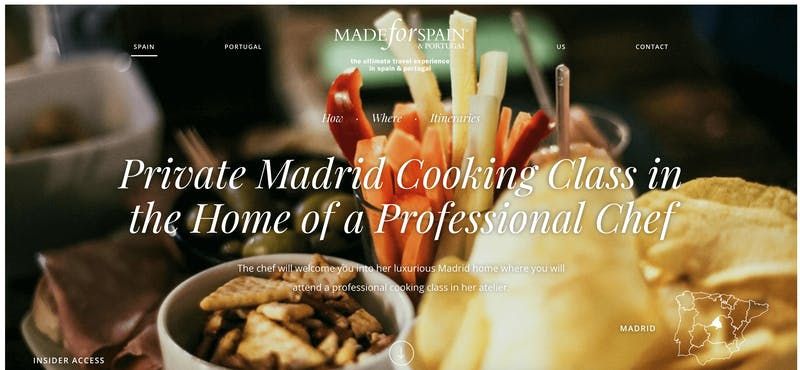 Made for Spain: Private Madrid Cooking Class in the Home of a Professional Chef