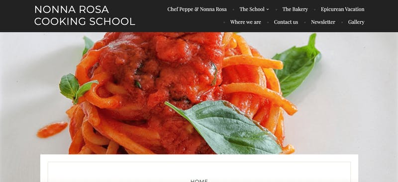 Nonna Rosa Cooking School