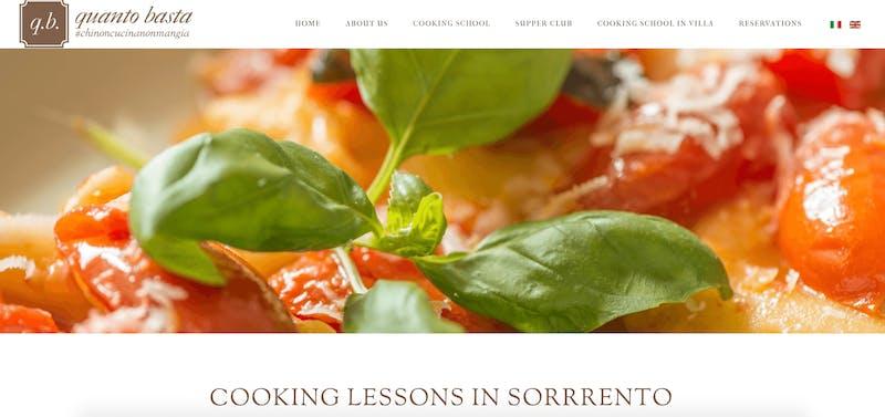 Quanto Basta: Cooking Classes in Sorrento