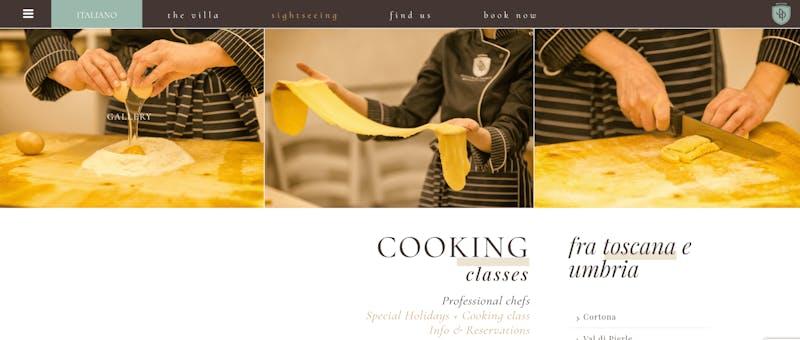 Rocca di Pierle Cortona Cooking Class