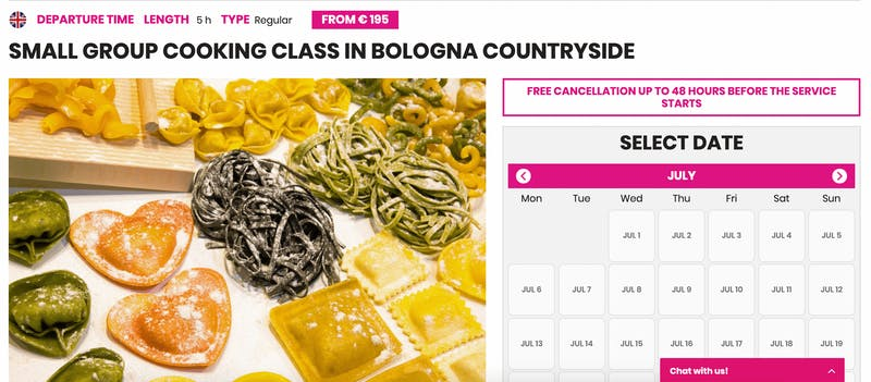 Small-Group Cooking Class in Bologna Countryside