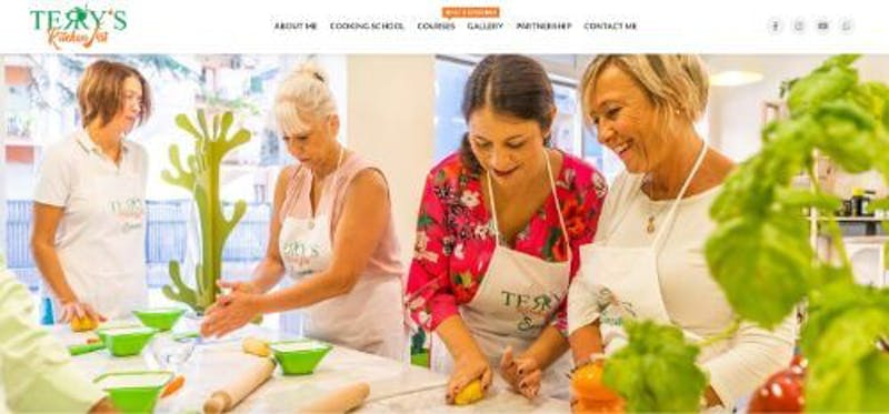 Terry's Kitchen Art: Sorrento Cooking Experience