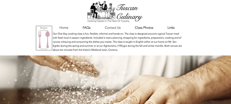 Tuscany Culinary Cooking Class