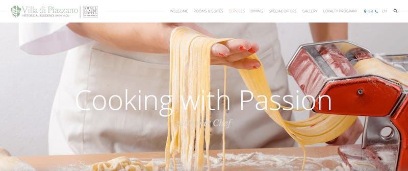 Villa di Piazzano Cooking Class in Cortona