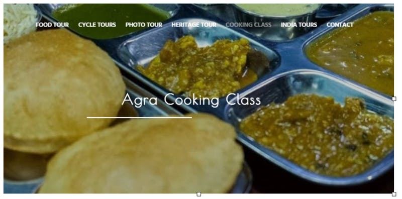 Agra Cooking Class with Agra Food Tour