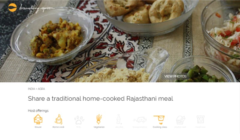 A home-cooked Rajasthani