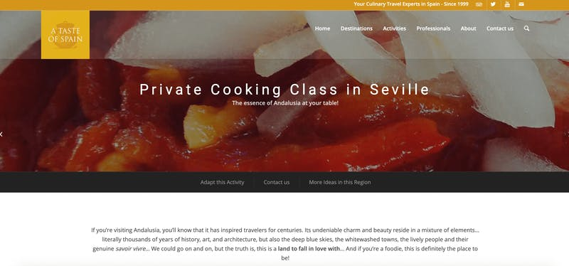 A Taste of Spain: Private Cooking Class in Seville