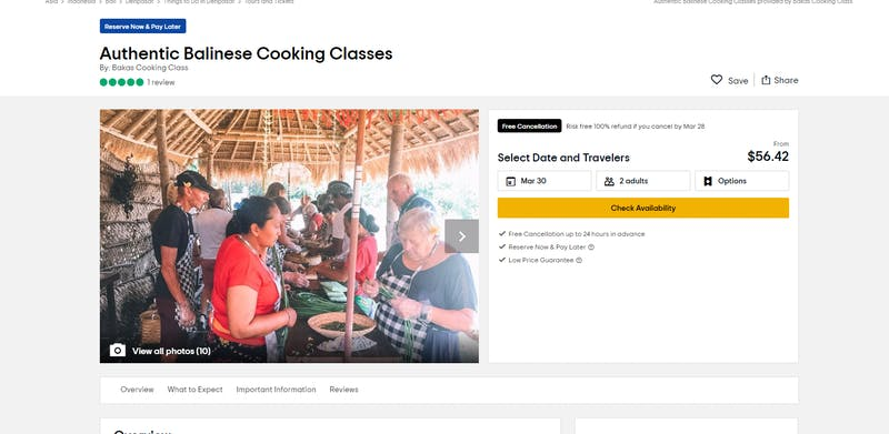 Authentic Balinese Cooking Classes by Bakas Cooking Classes