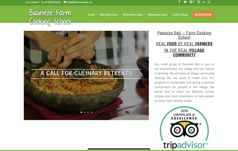 Bali Farm Cooking