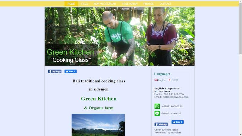 Green Kitchen Cooking Class