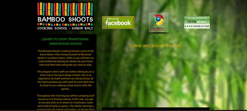 Bamboo Shoots Cooking School