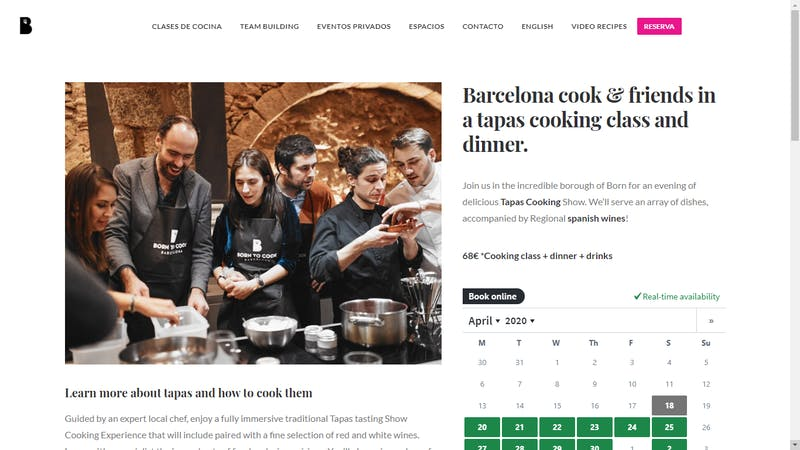 Born to Cook Barcelona