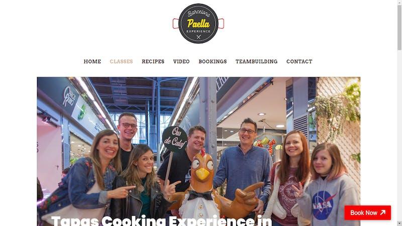 Barcelona Paella Experience