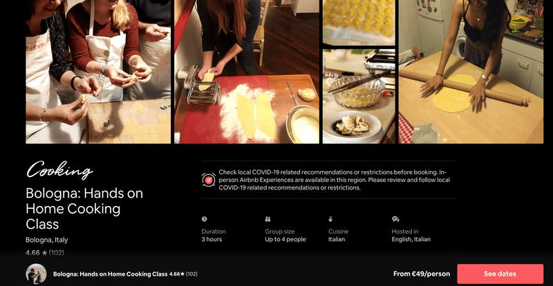 Bologna: Hands-on Home Cooking Class