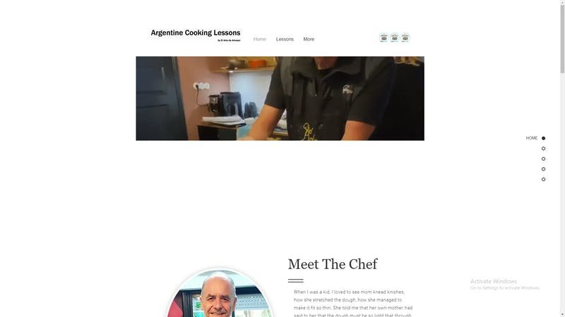 Argentine Cooking Lessons