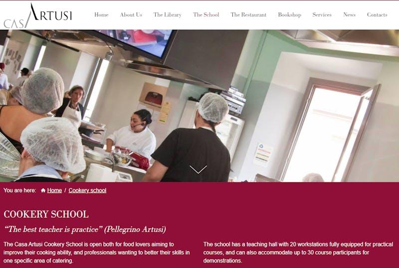 Casa Artusi Cooking Class
