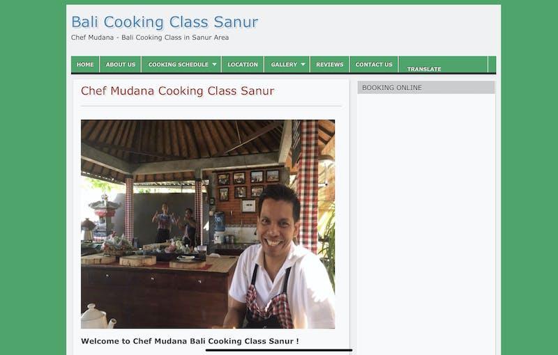 Chef Mudana Cooking Class