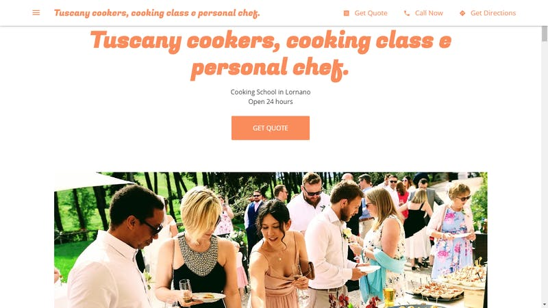 Tuscany Cookers, Cooking Class E Personal Chef