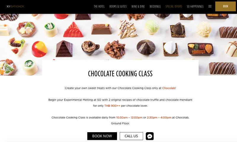 Chocolate Cooking Class at Chocolab