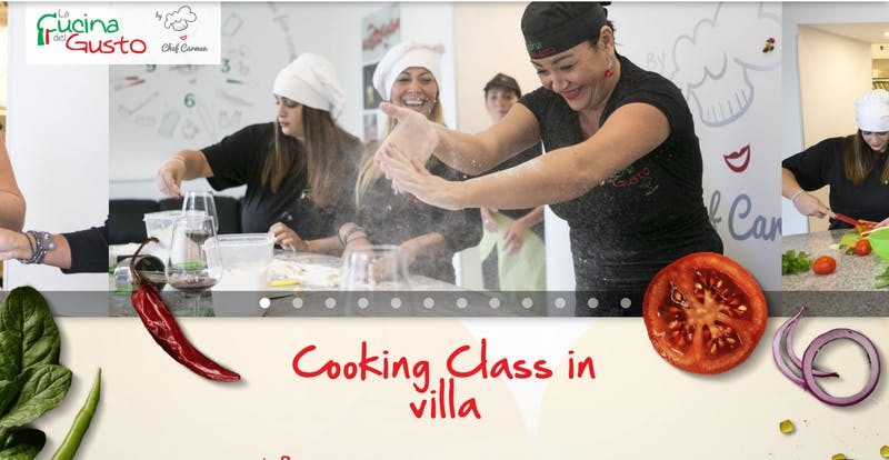 Cooking Class in a Villa