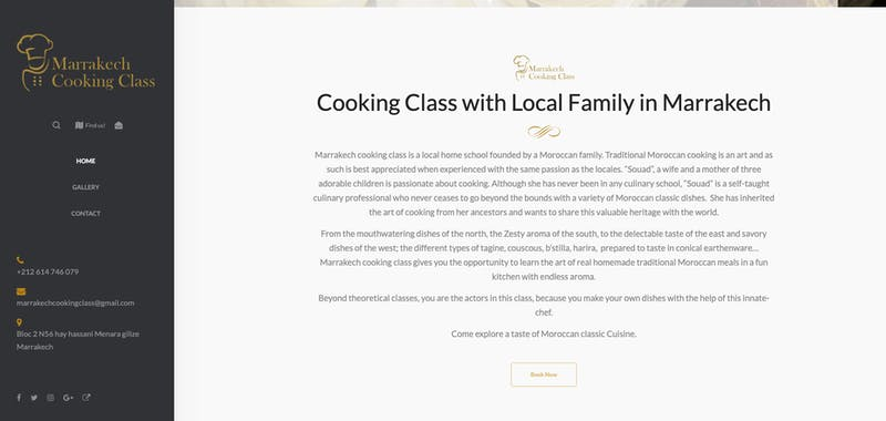 Cooking Class with Local Family in Marrakech
