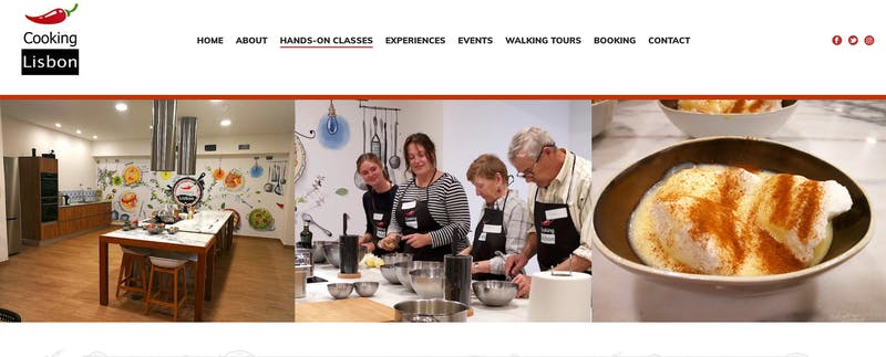 Cooking Class In Lisbon
