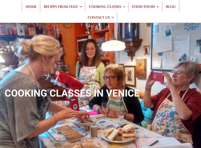 Cook in Venice