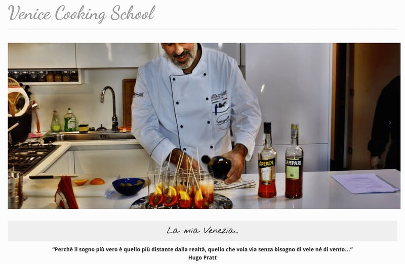 Cucina Italiana: Venice Cooking School
