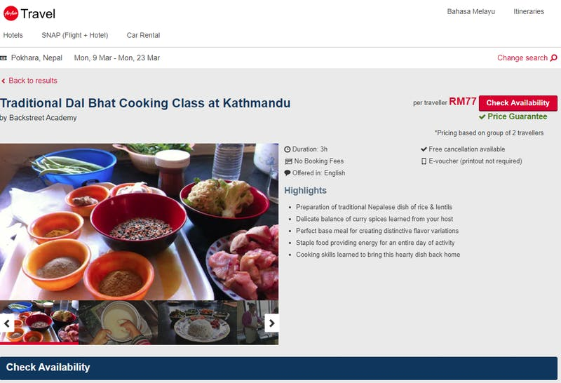 Traditional Dal Bhat Cooking Class at Kathmandu