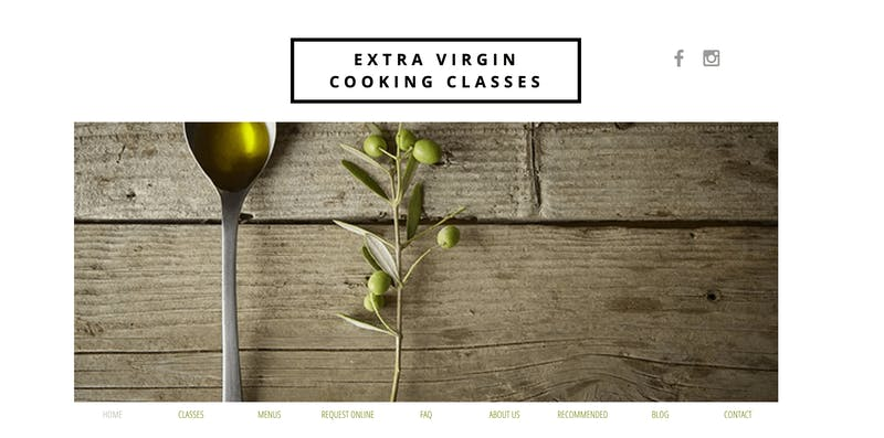 Extra Virgin Cooking Classes