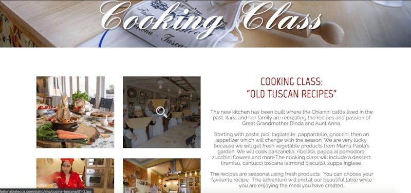 Fattoria Bistecca Cortona Cooking Class
