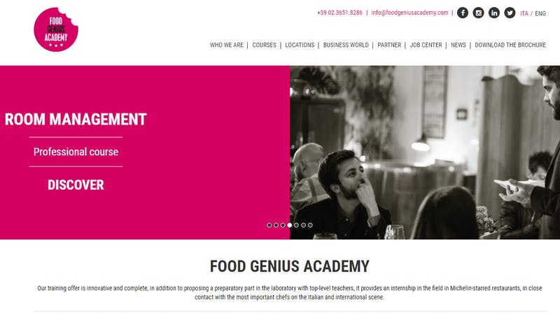 Food Genius Academy, Bologna
