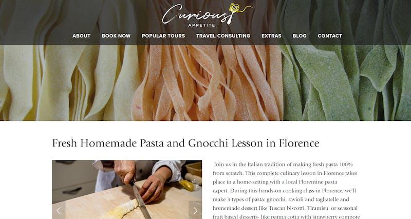 Fresh Homemade Pasta and Gnocchi Class