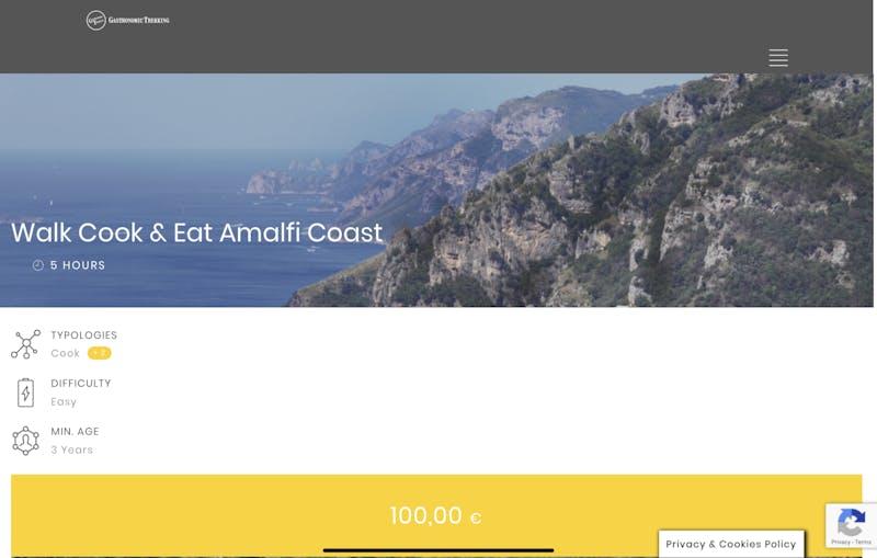 Gastronomic Trekking: Walk & Eat Amalfi Coast