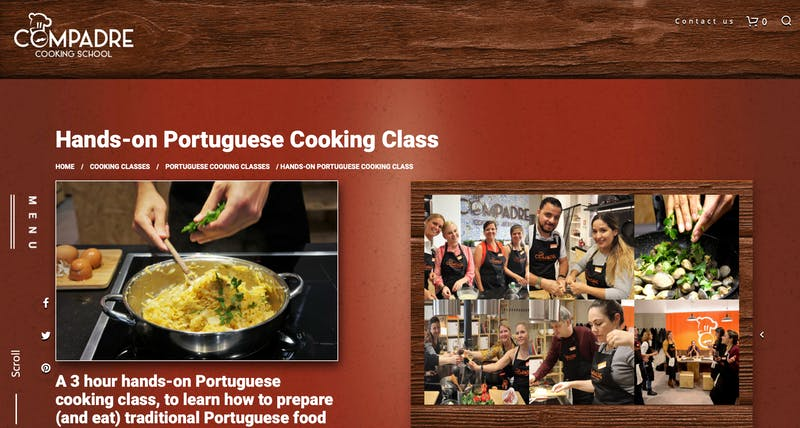 Hands On Cooking Class In Lisbon