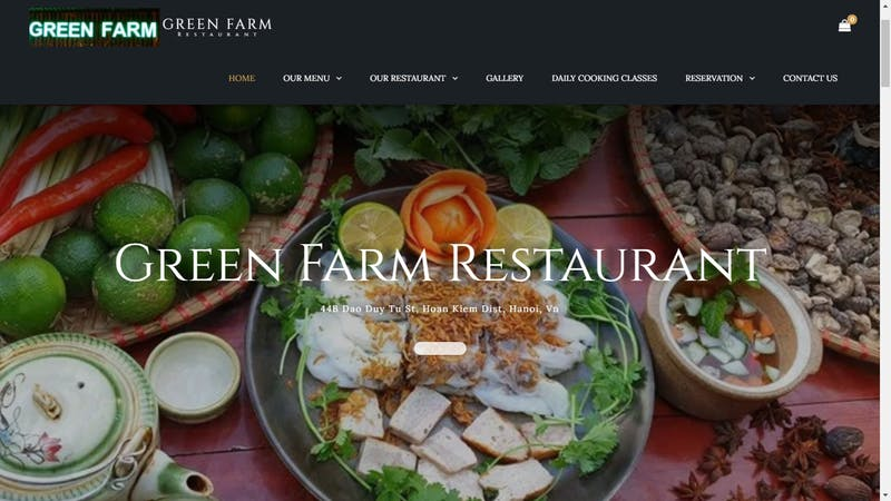 Green Farm Restaurant & Cooking Class Center